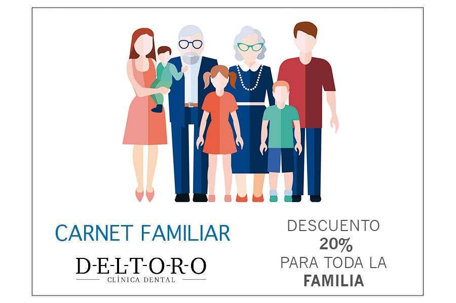 Carnet Familiar Clínica Dental DELTORO